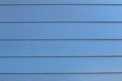 Alte hölzerne blaue Beschaffenheit Lizenzfreies Stockfoto