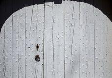 Alte hölzerne blaue Tür in Gordes Provence, Lizenzfreies Stockfoto
