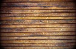 Alte hölzerne Blockhauswand-Hintergrundbeschaffenheit Lizenzfreie Stockfotografie