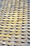 Alte hölzerne Dächer Lizenzfreie Stockbilder