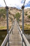 Alte hölzerne Drehbrücke bei altem Noarlunga, Süd-Australien, früher Stockbild