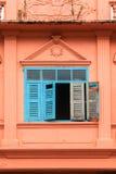 Alte hölzerne Fenster Lizenzfreie Stockbilder