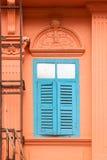 Alte hölzerne Fenster Stockbilder