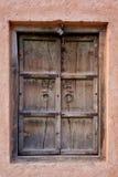 Alte hölzerne Fensterläden Stockfoto