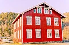 Alte hölzerne Gebäudedienstprogramme Lizenzfreie Stockfotografie