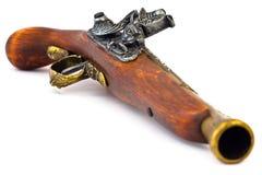 Alte hölzerne Gewehr-obere Seite Lizenzfreie Stockbilder