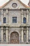 Alte hölzerne katholische Tür Lizenzfreie Stockbilder