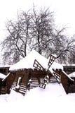 Alte hölzerne Mühle Lizenzfreie Stockbilder