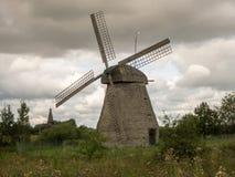 Alte hölzerne Mühle Lizenzfreies Stockbild