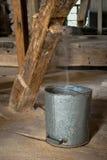 Alte hölzerne Mühle, zuhause Stockfotografie