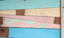 Alte hölzerne Planken Stockfoto