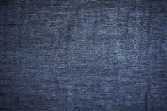 Alte hölzerne Planken der Beschaffenheit blau Stockfotografie