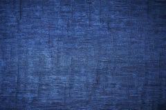Alte hölzerne Planken der Beschaffenheit blau Lizenzfreie Stockfotografie