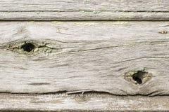 Alte hölzerne Planken des Hintergrundes mit Schalenfarbe Stockbilder
