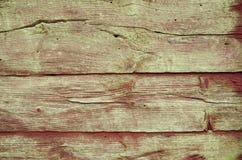 Alte hölzerne Plankewand Stockfoto