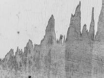 Alte hölzerne Schwarzweiss-Wand Stockbild