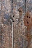 Alte hölzerne Tür Lizenzfreie Stockbilder