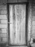 Alte hölzerne Tür Stockfotografie