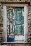 Alte hölzerne Türen Stockfotos