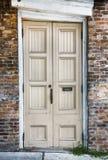 Alte hölzerne Türen Lizenzfreie Stockfotografie