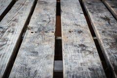 Alte hölzerne Tabelle Lizenzfreies Stockfoto