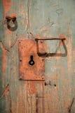 Alte hölzerne Wand stockfotografie