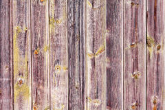 Alte hölzerne Wand als natürliche Beschaffenheit oder Hintergrund Kopieren Sie Platz Alter hölzerner Zaun Landhausstil Stockfotografie