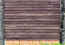 Alte hölzerne Wand-Beschaffenheit. Lizenzfreie Stockbilder