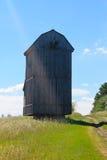 Alte hölzerne Windmühle Stockbild