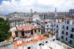 Alte Habana Dachspitzen Stockfoto