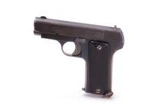 Alte halbautomatische Pistole Stockbild