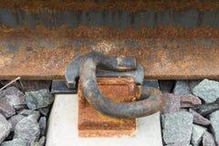 Alte Halterbahnen Lizenzfreie Stockfotografie