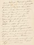 Alte Handschrift lizenzfreie stockbilder