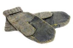 Alte Handschuhe Lizenzfreies Stockbild