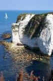 Alte Harry-Felsen in Dorset lizenzfreie stockfotografie