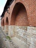 Alte Hauptwand, Lettland stockfotos