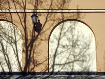 Alte Hauptwand, Litauen Lizenzfreie Stockfotos