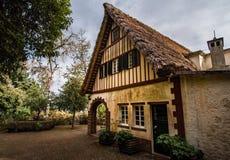 Alte Haus Casa DAS Queimadas in Madeira, Portugal Lizenzfreie Stockfotos