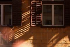 Alte Hausfenster Lizenzfreie Stockfotografie