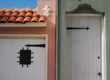 Alte Hausteile Stockbild