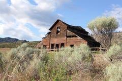Alte Haynes-Ranch, Osoyoos stockbild