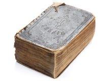 Alte heilige Bibel lokalisiert Stockfoto