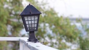 Alte helle Lampe stockbild
