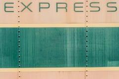 Alte Hintergrundbeschaffenheit der Creme und des Metalls des Grüns Lizenzfreies Stockfoto