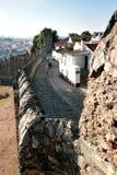 Alte historische Festung Braganca, Portugal Lizenzfreies Stockbild