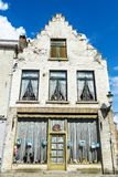 Alte historische Gebäude in der mittelalterlichen Stadt von Brügge, Belgien Stockfotografie