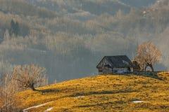 Alte hölzerne Hütte Lizenzfreies Stockbild