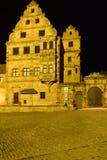 Alte Hofhaltung a Bamberga, Germania Fotografie Stock