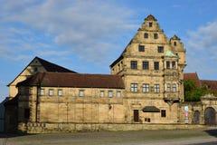 Alte Hofhaltung a Bamberga, Germania Immagine Stock