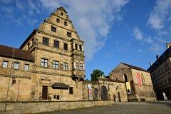 Alte Hofhaltung a Bamberga, Germania Immagini Stock